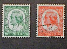 Rare pair   Third Reich,  Mi #554-555,  -  Used