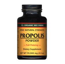 Propolis - Raw, Unprocessed - 70,000 mg YS Eco Bee Farms 2.5 oz Powder