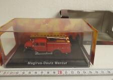 14 ) Atlas Verlag Magirus-Deutz Mercur Einsatzwagen der Feuerwehr 1:72 - in OVP