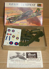 REVELL 1/72 SCALE H-620-50 MK. V HAWKER TEMPEST MADE IN USA 1963