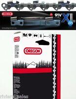 """Oregon D'Origine 91VXL Chaîne Tronçonneuse / Lame pour Alko 2000 16 """" 1.3mm 3/8"""