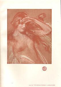 1902 Studio Aufdruck ~ The Coming Von Frühling Von Harold Speed