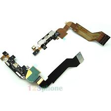ORIGINAL DATA CHARGER CHARGING CONNECTOR FLEX CABLE FOR IPHONE 4S BLACK #C-053
