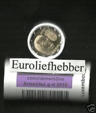 Luxemburg  2 Euro Commemorative Rol  2010 Het wapen van de groothertog