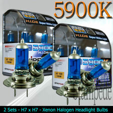 XENON HID HALOGEN HEADLIGHT BULBS 2003 2004 2005 2006 2007 SAAB 9-3 - 2 PACK