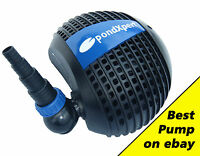PondXpert Pondpush Pond Pumps 3000-17000 LPH for all ponds, waterfalls & filters