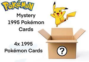 1995 Pokémon Cards Mystery Box Great Condition Mint Cards Pokemon Trading Cards