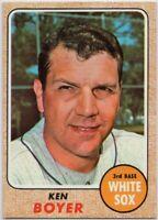 1968 Topps #259 Ken Boyer Near Mint Chicago White Sox Free Shipping