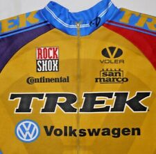 Mens Vintage TREK Team L/S Cycling Jersey size M/L