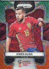 Prizm Copa del Mundo 2018 G/S Wave Tarjeta Base Paralelo #203 Jordi Alba-España