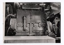 PHOTO ANCIENNE Gros Plan Moteur Diesel Vers 1940 Machine Outil Piston Industrie
