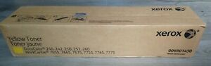 Xerox 006R01450 Yellow Toner Twin Pack DocuColor 240-260 WorkCentre 7655-7775