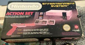 Nintendo Nes Action Set 8bit + 4 Giochi. Super Mario Bros 2,ninja gaiden