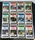Star Trek FOTONOVELS Complete SET 12 Books BANTAM Vtg 1977-78 Photo Foto novels
