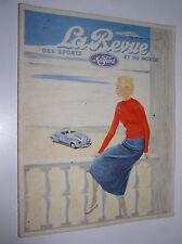LA REVUE DES SPORTS ET DU MONDE MATFORD N° 31 - 1936 [GABRIELLE CHANEL]