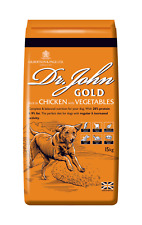 Dr. John Gold Rich in Chicken & Vegetables 15kg Dry Dog Food for Working Dogs