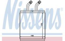 NISSENS Radiador de calefacción KIA K2500 K2700 77526