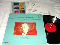 "Leinsdorf/Boston ""Prokofieff: Symphony No. 5"" 19685 LP, Nice NM-!, RCA, LM-2707"