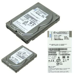 """HARD DRIVE IBM 40K6871 160GB 7.2k SATA 3.5"""" SIMPLE SWAP 42C0454"""