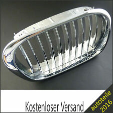 Kühlergrill Grill Niere Gitter Chrom Schwarz Rechts für BMW 5er E39 51137005838