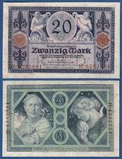 20 Mark 1915 KASSENFRISCH / UNC  Ro.53 / P.63