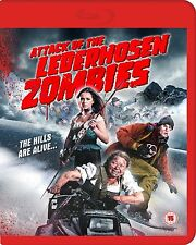 ATTACK OF THE LEDERHOSEN ZOMBIES di Dominick Hartl BLURAY in Inglese NEW .cp