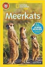 National Geographic Kids Meerkats By Laura Marsh [Level 1 Reader] [Paperback]