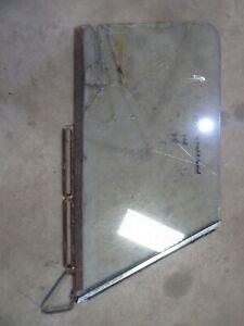 1954 Studebaker Champion 2 door sedan window glass frame track parts PASSENGER
