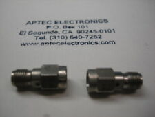 lot of 2 SMA M/F Connector Savers FREE shipping
