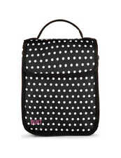 BUILT Essential Neoprene Lunch Tote Black Dotted