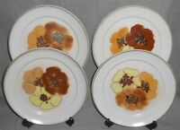 Set (4) Denby POTPOURRI - SAN GABRIEL PATTERN Dinner Plates MADE IN ENGLAND
