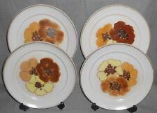 Set (4) Denby POTPOURRI PATTERN Dinner Plates MADE IN ENGLAND