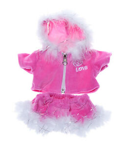 """Pink """"Love"""" Outfit Fits Most 8""""-10"""" Webkinz, Shining Star and 8""""-10"""" Make Your O"""