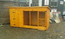 10x4 Dog kennels and runs