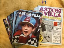 More details for 33 issues , aston villa news and record magazine - vintage 1970s onwards