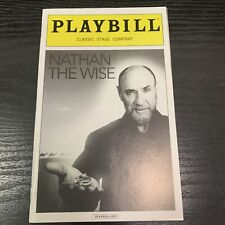 NATHAN THE WISE April 2016 Off Broadway Playbill! CLASSIC STAGE F Murray Abraham
