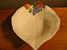 Bassano Italy Fruit Serving Bowl with Fruit Design Italy