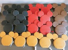 Coach Disney Mickey Mouse Ears Zip Coin Purse COIN CASE F59071 - BLACK/ RED