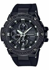 CASIO G-SHOCK G-STEEL Tough Sola Carbon Fiber Sapphire WATCH GSTB100X-1A
