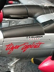 LIBERTY SPEC CAST P-38 LIGHTNING TIGER SPIRIT Pilot LT. R WILLIAMSON 1:6