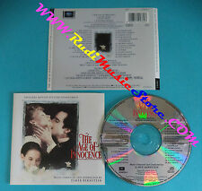 CD Elmer Bernstein The Age Of Innocence 474576 2 SOUNDTRACK no lp dvd mc(OST2)