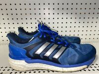Adidas Supernova ST Mens Athletic Running Training Shoes Size 7.5 Blue Gray