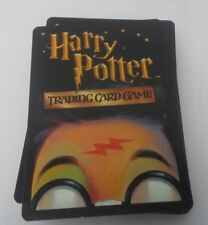 Harry Potter Trading Card Game 61 Card Lot Used