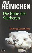 Die Ruhe des Stärkeren: Ein Proteo-Laurenti-Krimi von He...   Buch   Zustand gut
