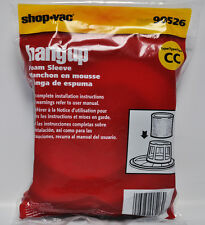Shop Vac Hangup Foam Sleeve Type CC Filter 90526