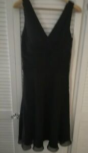 SOUTH Ladies Black Evening/Cruise/Party Dress Size 10