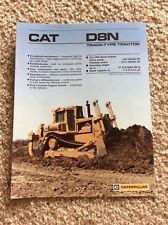 1988 Caterpillar D8N Track-Type Tractor original sales information