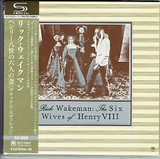 RICK WAKEMAN The Six Wives Of Henry VIII * SEALED JAPAN SHM-CD + DVD UICY-76992