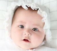 Cute Baby Girls Kids Children Bonnet Lace 100% Cotton Beanie Princess Cap hat