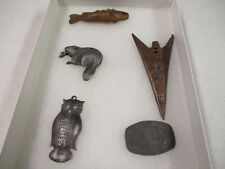 FIVE EARLY FUR TRADE RELICS